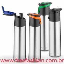 1310 Garrafa termica de aço inox 1 litro com alça