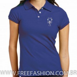 23025-CAMISA GOLA POLO BABY LOOK P.A