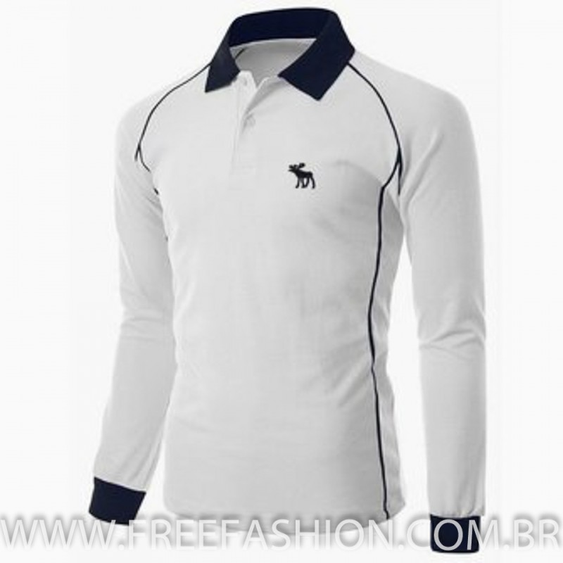 b910ce73520a5 23027-CAMISA GOLA POLO P.A MANGA LONGA - Free Fashion