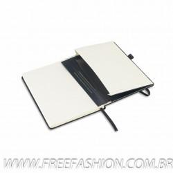93491 Caderno capa dura, Com porta esferográfica