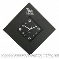 AG12CUL Relógio de Parede Cubo Losango