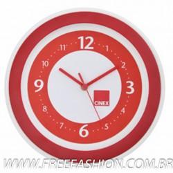 AG11RA Relógio Redondo com Aro EXCLUSIVO