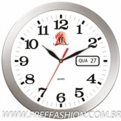 AG11MEC Relógio Redondo METAL