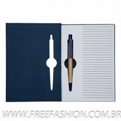 13005 Bloco de anotações com caneta