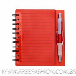 11193 Bloco de anotações com caneta