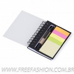 12518 Bloco de anotações com caneta