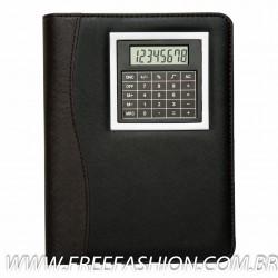 12524 Bloco de anotações com calculadora