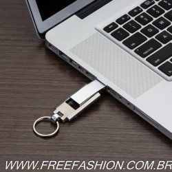 037-4GB Pen Drive Chaveiro Metal 4GB
