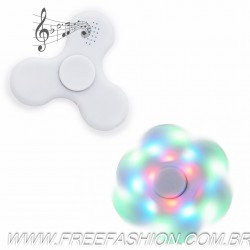 2056 Spinner Anti-Stress Plástico com Led e Bluetooth