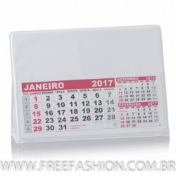 CALENDÁRIO DE MESA PVC GRANDE