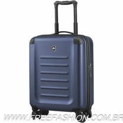 601287 Mala de Bordo Global Carry-on com 8 rodas Azul