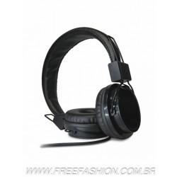 FO615 - Headphone de couro sintético com microfone KIMASTER