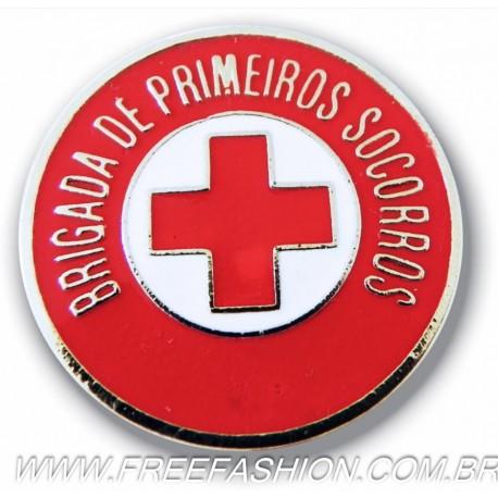 011 - BOTTON BRIGADA DE PRIMEIROS SOCORROS 30 MM