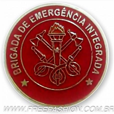 012 - BOTTON BRIGADA DE EMERGÊNCIA INTEGRADA 30 MM