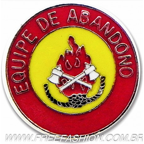 015 - BOTTON EQUIPE DE ABANDONO 30 MM