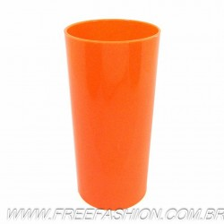 0320 Long Drink Economico 320 Laranja Fluor Solido