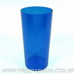 0320G Long Drink Economico 320 ML Azul Glitter
