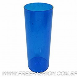 0350G COPO LONG DRINK 350 ML AZUL GLITER