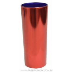 0350 COPO METALIZADO LONG DRINK 350 ML VERMELHO