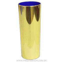 0350 COPO METALIZADO LONG DRINK 350 ML DOURADO