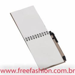 12681 Bloco de anotações com caneta