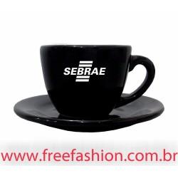 729072 Xícara de Café Standard Preta