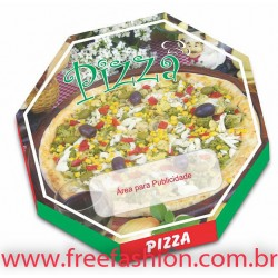 FREE 25 CAIXA PARA PIZZA 26 X 26 CM