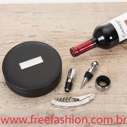 12018  Kit Vinho 4 Peças