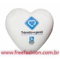 0003 Coração anti stress vinil oca Personalizada