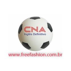 0005 Bolinha Anti Stress Vinil Oca C/ Pintura Futebol
