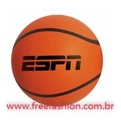 0008 Bolinha anti stress vinil oca basquete c/ alto relevo Personalizada