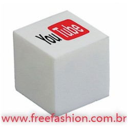0017 Cubo anti stress vinil oco Personalizado