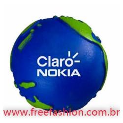 0018 Globo anti stress vinil oca c/ pintura Personalizado