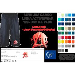 0001 BERMUDA CARGO MICROFIBRA 100%