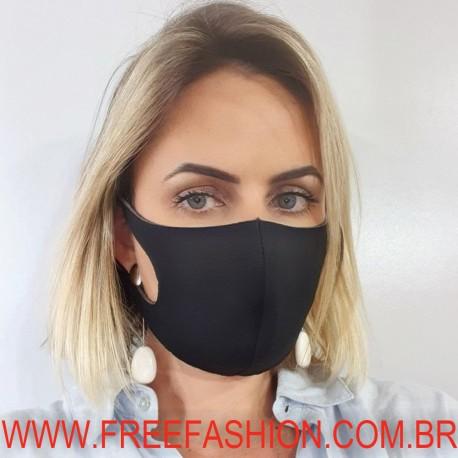14466 Máscara Reutilizável de Poliéster 3 CAMADAS
