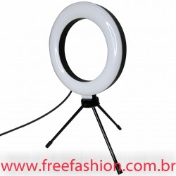 CXB160- ILUMINADOR RING LIGHT 6POL. COM TRIPÉ