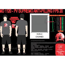 9195-E CAMISETA TRADICIONAL ANTI PILLING CHUMBO