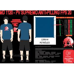 1398-E CAMISETA TRADICIONAL ANTI PILLING PETRÓLEO