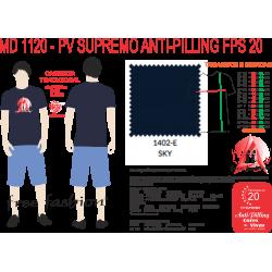 1402-E CAMISETA TRADICIONAL ANTI PILLING SKY