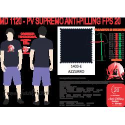 1403-E CAMISETA TRADICIONAL ANTI PILLING AZZURRO