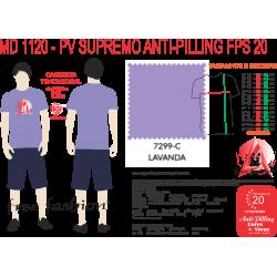 7299-M CAMISETA TRADICIONAL ANTI PILLING LAVANDA