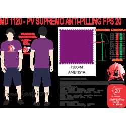 7300-E CAMISETA TRADICIONAL ANTI PILLING AMETISTA