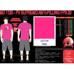 6177-E CAMISETA TRADICIONAL ANTI PILLING PINK