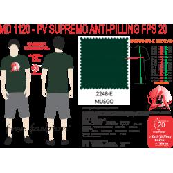 2248-E CAMISETA TRADICIONAL ANTI PILLING MUSGO