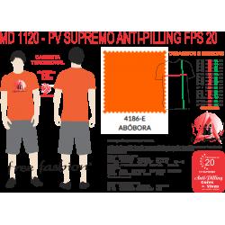 4186-M CAMISETA TRADICIONAL ANTI PILLING ABÓBORA