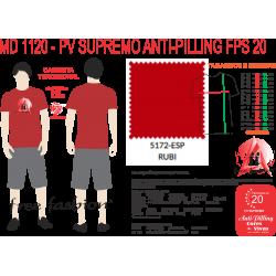 5172-ESP CAMISETA TRADICIONAL ANTI PILLING VERMELHO RUBI
