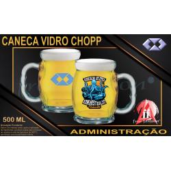 033013 CANECA DE CHOPP 550 ML VIDRO BAR BRASIL UNIVERSITÁRIA