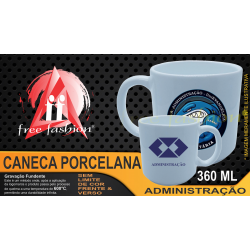729090 CANECA PORCELA 360 ML UNIVERSITÁRIA