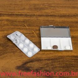 13785 Porta Comprimido Metal