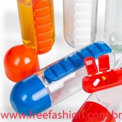 13996 Squeeze Plástico 700ml Porta Comprimido